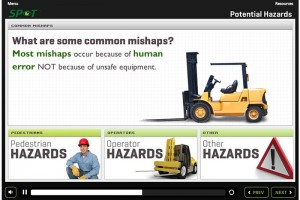 Spot Safety: Introduction to Forklift Safety